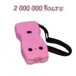 Shocker électrique Rose 2 000 000 Volts rechargeable avec Led éblouissantes