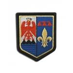 Ecusson brodé Gendarmerie région