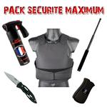 Pack de défense complet Sécurité Maximum - vente libre aux particuliers