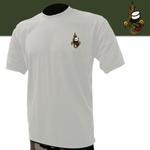 Tee-shirt blanc brodé légion étrangère