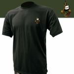 Tee-shirt noir brodé légion