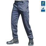 Pantalon intervention Performance Spandex bleu
