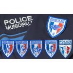 Ecusson plastifié POLICE MUNICIPALE