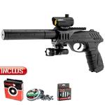 Pistolet à plomb Tactical Gamo PT25 Tactical co2