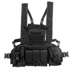 Gilet chest Rigg molle noir SWAP