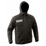 Blouson noir jersey Essential noir