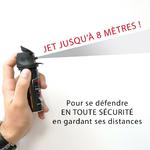 Aérosol de défense 50 ml gel poivre avec jet de 8 mètres
