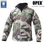 Blouson Militaire Softshell camouflage