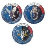 Insigne Médaille Gendarmerie Nationale RF, PSIG ou OPJ