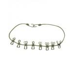 Tendeur corde à linge avec 8 pinces EVA