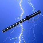Matraque électrique 200 000 volts rechargeable