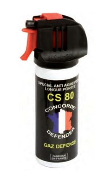 bombe lacrymogène 50 gaz