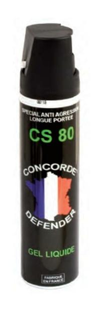 bombe lacrymogène 75 gel