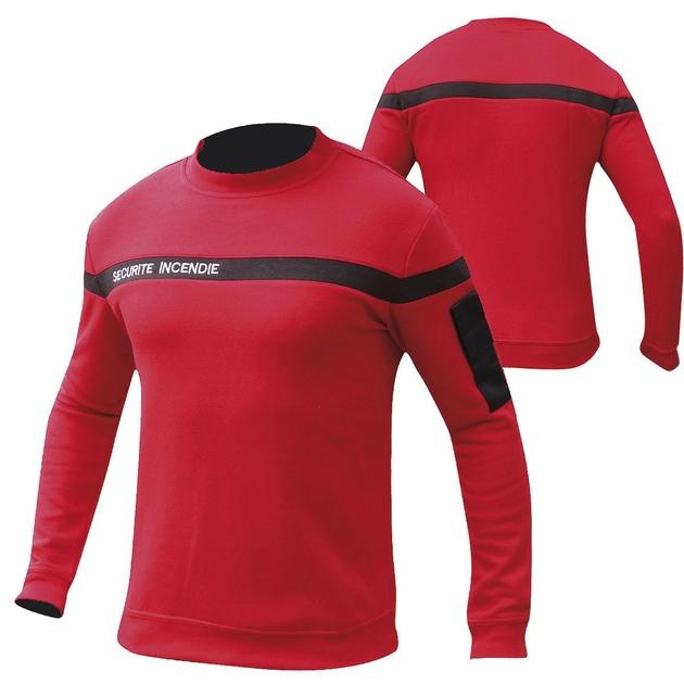 sweat-shirt-rouge-securite-incendie