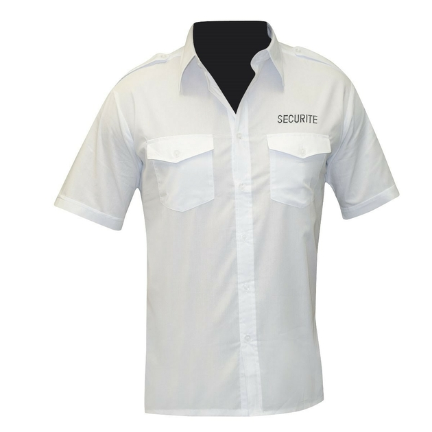 chemise-pilote-blanche-manches-courtes-brodee-securite