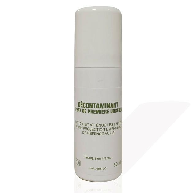 aerosol decontamination lacrymogene