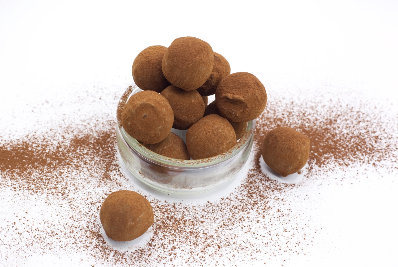Truffes chocolat vanille