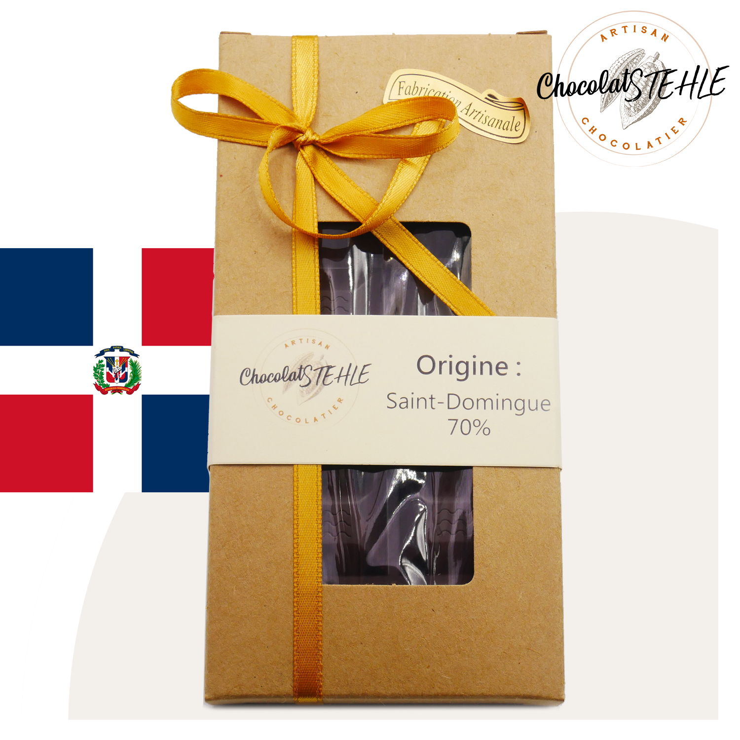 Tablette Origine: Saint-Domingue 70%