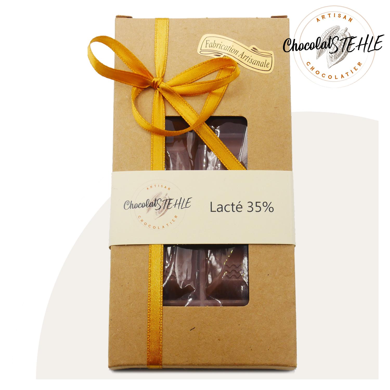 Tablette chocolat lacté 35%
