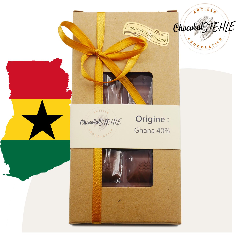 Tablette Origine: Ghana 40 %
