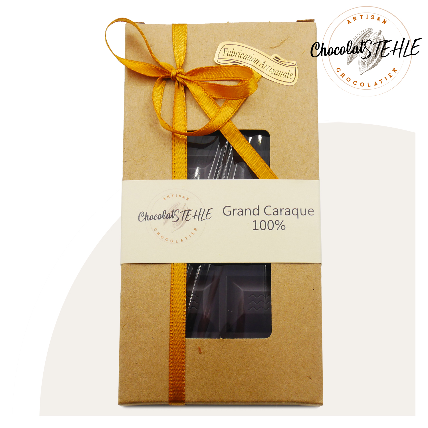 Tablette chocolat grand caraque 100%