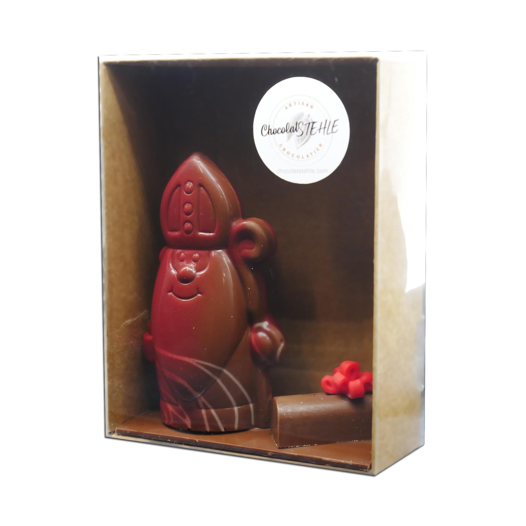 Saint-Nicolas en chocolat