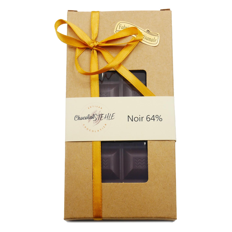 tablette chocolat noir 64% guayaquil