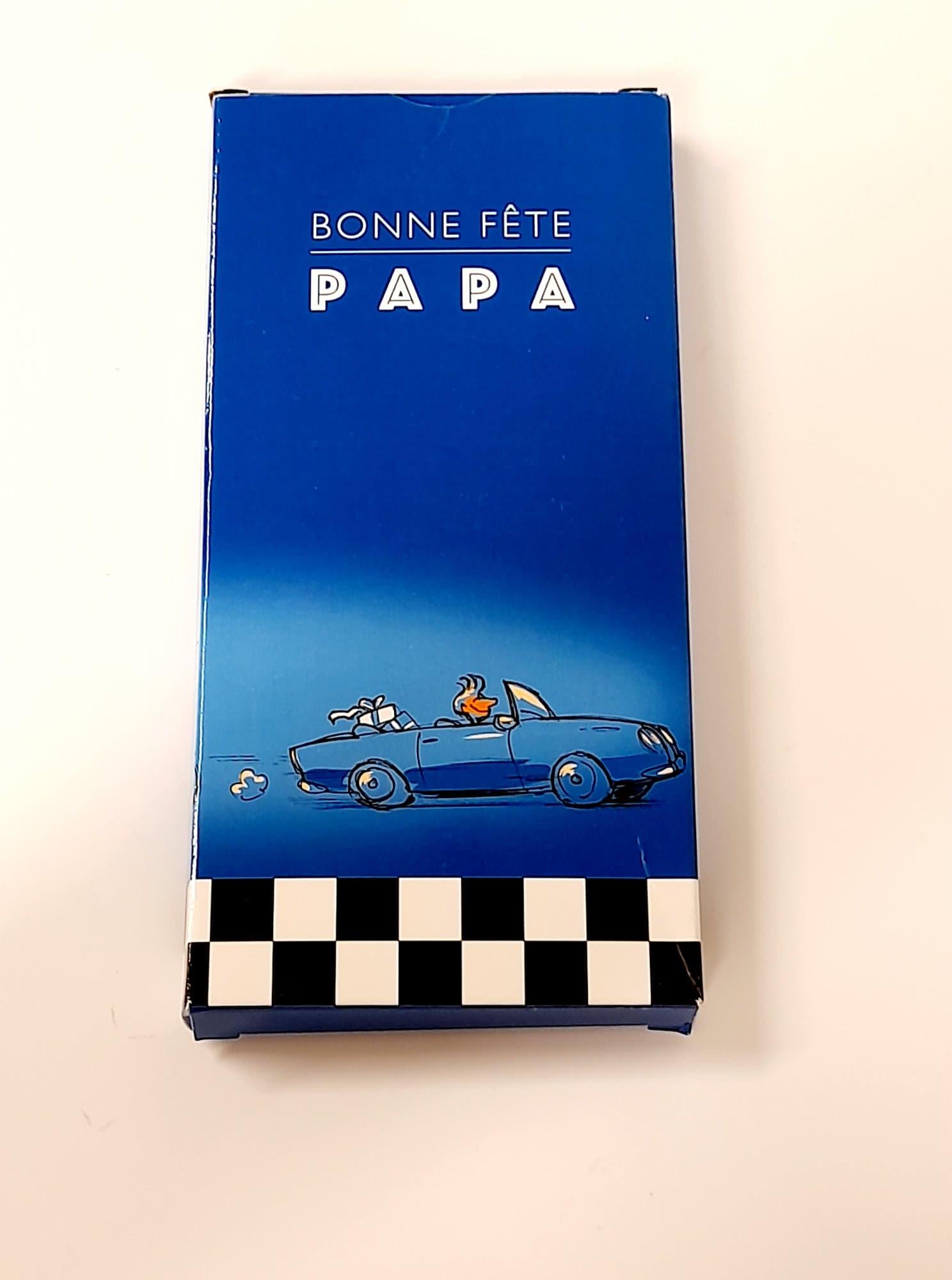 Tablette chocolat fête des pères