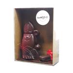 Saint-nicolas en chocolat noir chocolatstehle