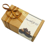 Ballotin de rochers praliné au chocolat noir