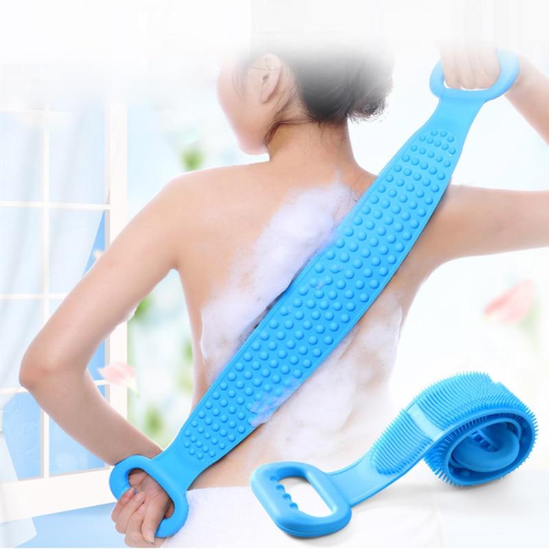 Brosse de bain en silicone