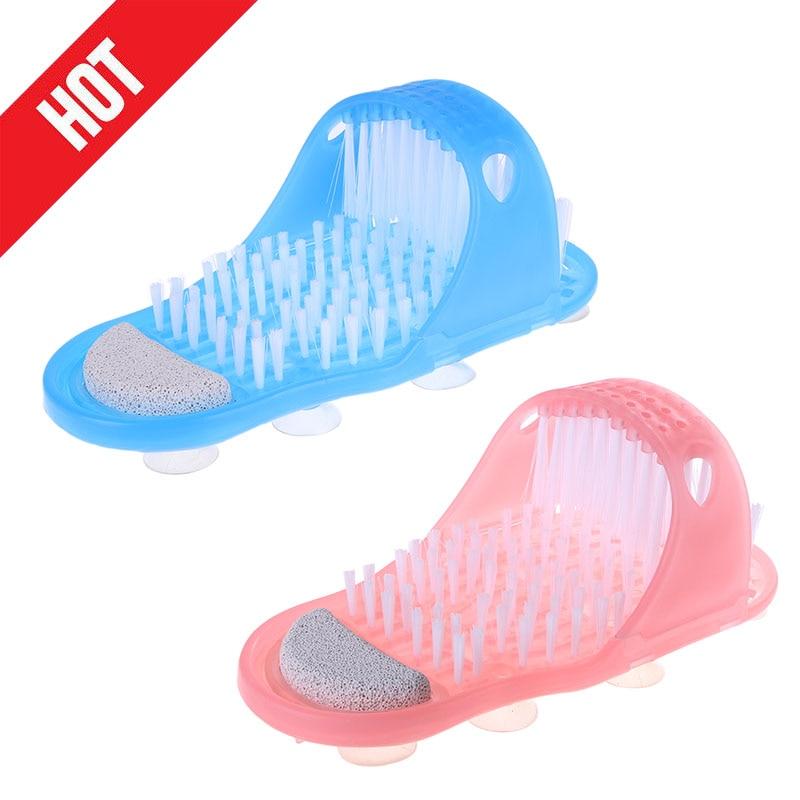 Chaussure de douche exfoliante