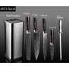 XITUO-cuisine-Chef-Set-couteau-acier-inoxydable-porte-couteau-Santoku-utilitaire-coupe-couperet-pain-d-office