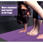 Tapis-de-Yoga-TPE-1830-610-6mm-avec-ligne-de-Position-tapis-de-tapis-antid-rapant