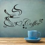 Tasse-caf-avec-coeur-vinyle-citation-Restaurant-cuisine-amovible-Stickers-muraux-bricolage-d-cor-la-maison