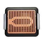 Plaque-de-barbecue-lectrothermique-Durable-antiadh-sive-barbecue-rapide-barbecue-sans-fum-e-avec-grille-de