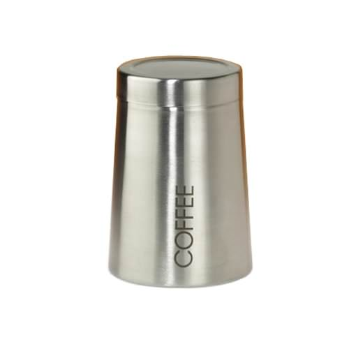 Boîte à café acier