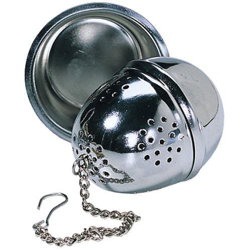 Boule à thé avec coupelle 4cm