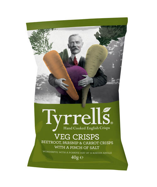 Tyrrell\'s Mélange de Légumes - 40g