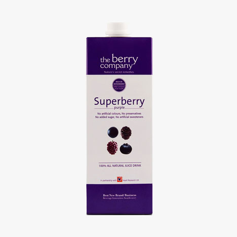 The Berry Company - Superberry Purple 1L