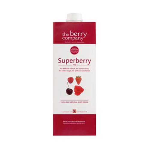 The Berry Company - Superberry Red 1L