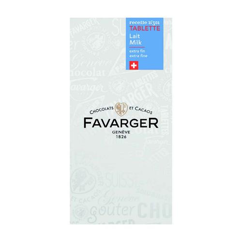 Favarger - Tablette Lait 100g