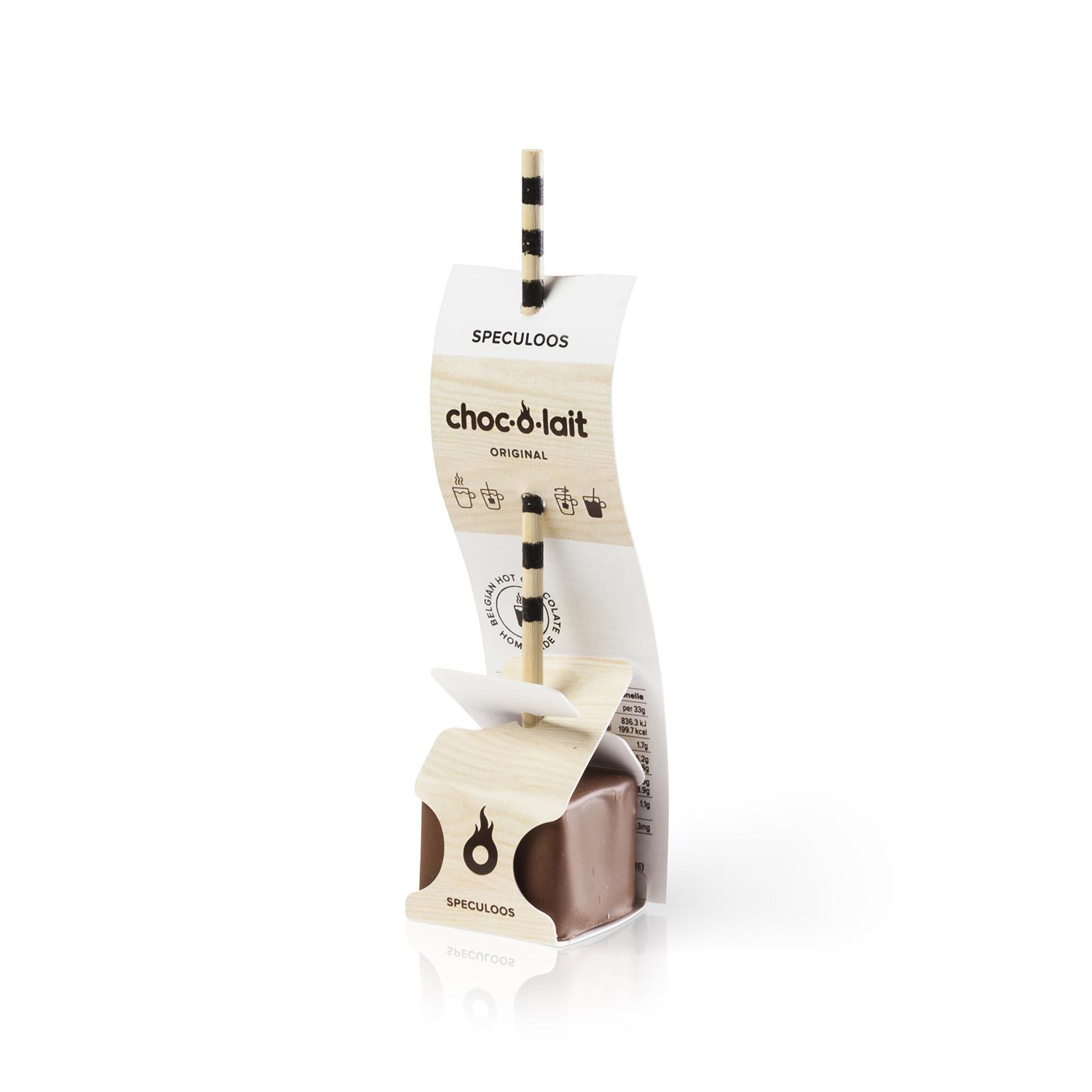 Choc-o-lait Bâtonnet de Chocolat au Speculoos