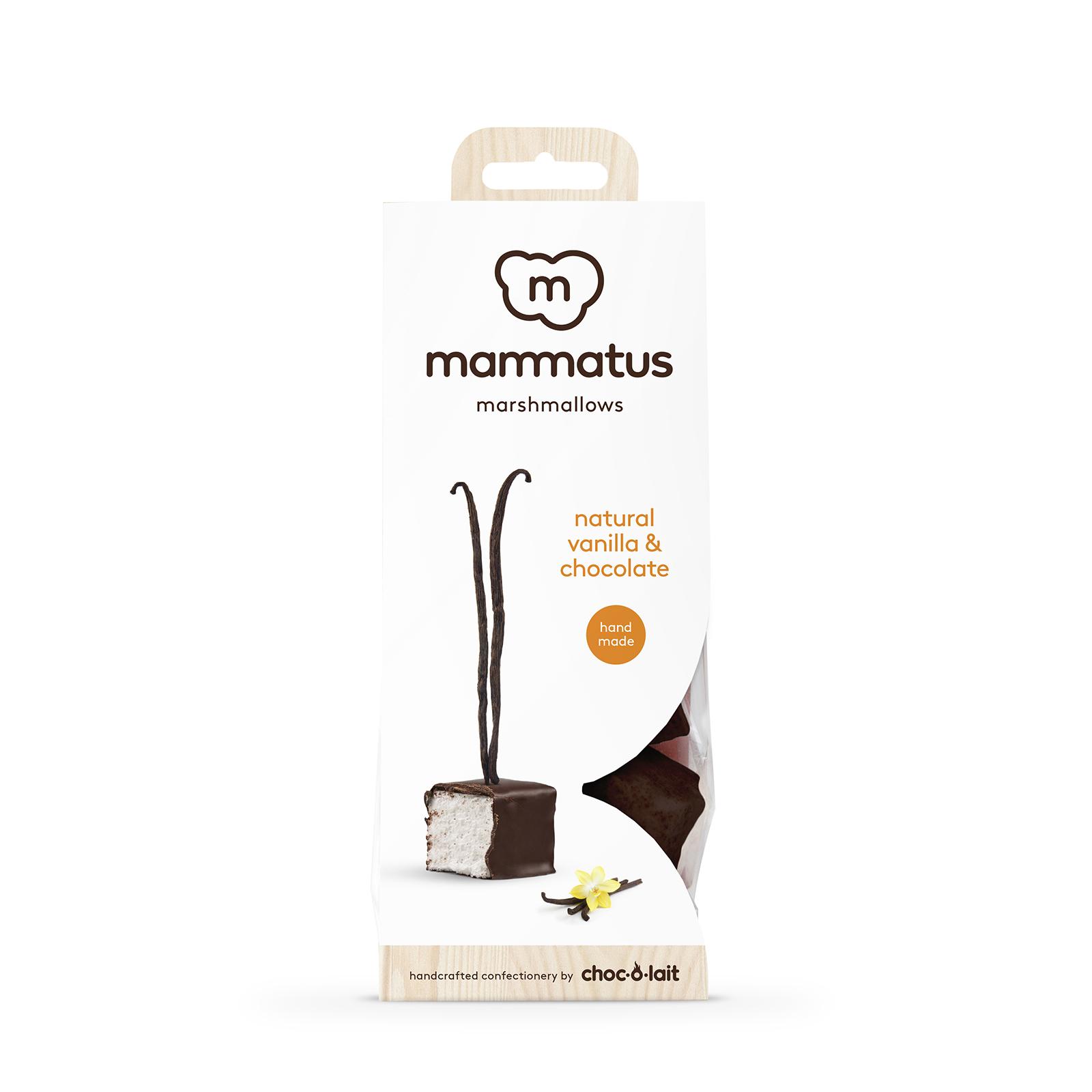Mammatus Marshmallows Vanille enrobé de chocolat au lait
