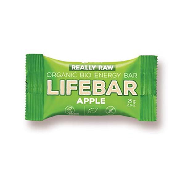 Mini Barre Lifebar -Pomme bio & cru- 25g