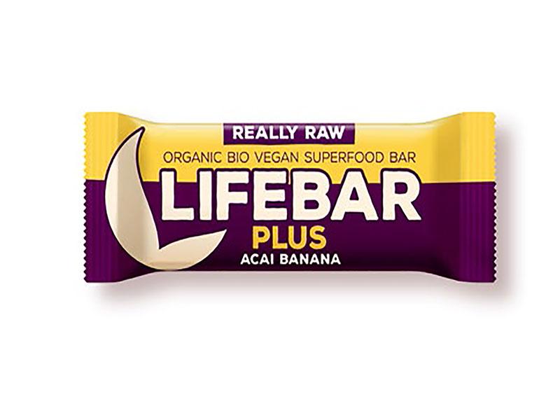 Barre Lifebar -Açai Banane bio & cru- 47g