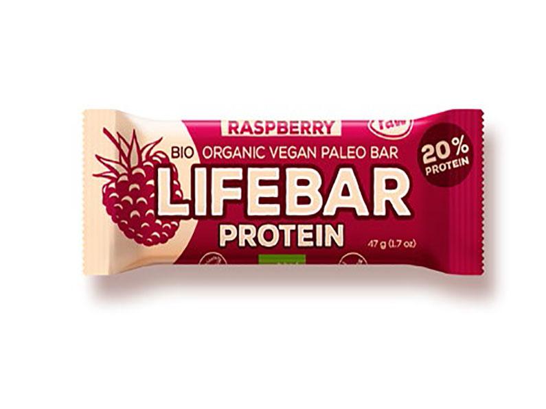 Barre Lifebar -Framboise bio & cru- 47g