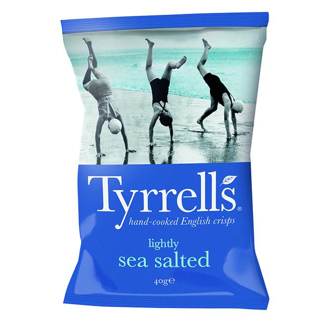 Tyrrell\'s Légèrement Salées - 40g