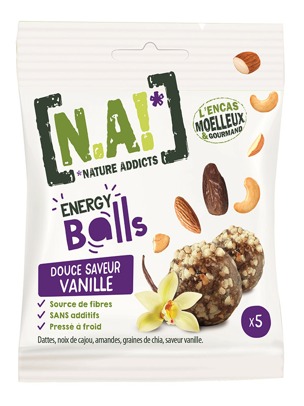 N.A ! Energy Balls -Douce Vanille- 40g