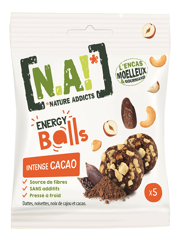 N.A ! Energy Balls -Intense Cacao- 40g